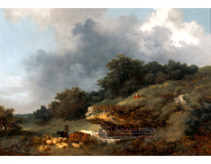 VJHF 35 Jean-Honoré Fragonard - Napájení ovcí