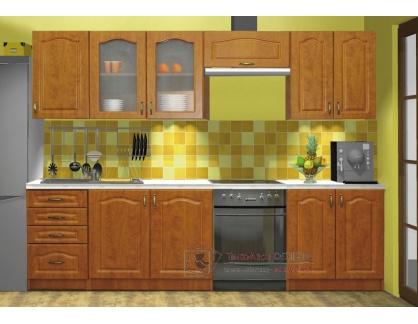 PREMIUM, kuchyně 240cm bez PD, olše