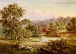 D-7272 Henry W. Waugh - Krajina s mostem