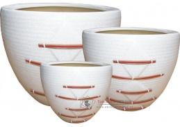 Axin Trading Keramický obal vzor 1885 - set 3 kusy