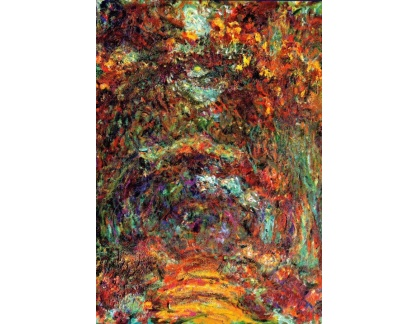 VCM 98 Claude Monet - Růže cestou do Giverny