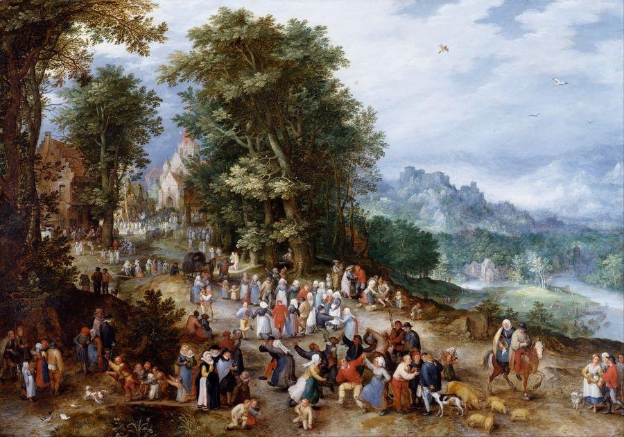 BRG-105 Jan Brueghel - Vlámská slavnost