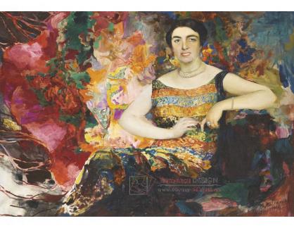 VR-417 Filip Andrejevič Maliavin - Portrét ženy