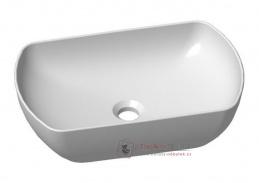 KLEO, koupelnové umyvadlo 50x31cm - ovál