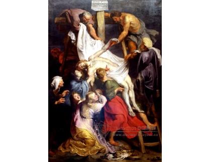 VRU15 Peter Paul Rubens - Snímání z kříže
