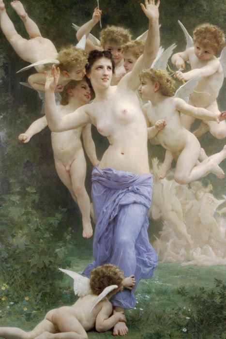 R15-102 Adolph William Bouguereau - Vosí hnízdo
