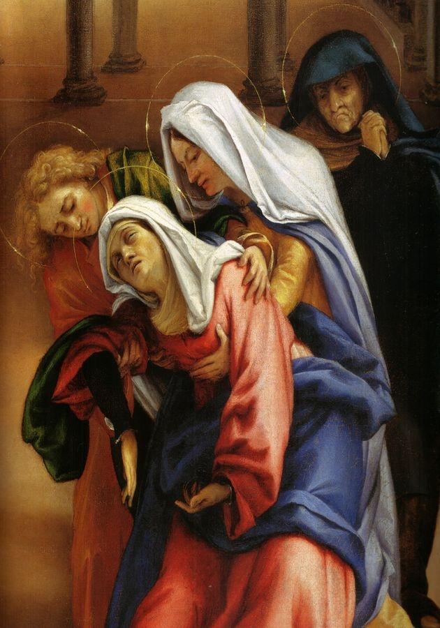 VLL 42 Lorenzo Lotto - Rozloučení Krista s Marii