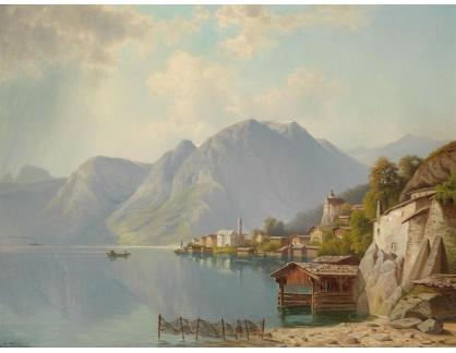 KO III-379 Theodor Nocken - Pohled na Hallstatt