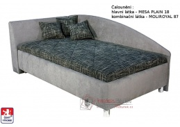 Postel ANDREW 110x200 cm, volně ložená matrace