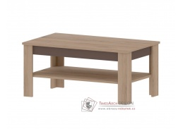 MADAGASKAR B, konferenční stolek 108x68cm, dub sonoma / grafit