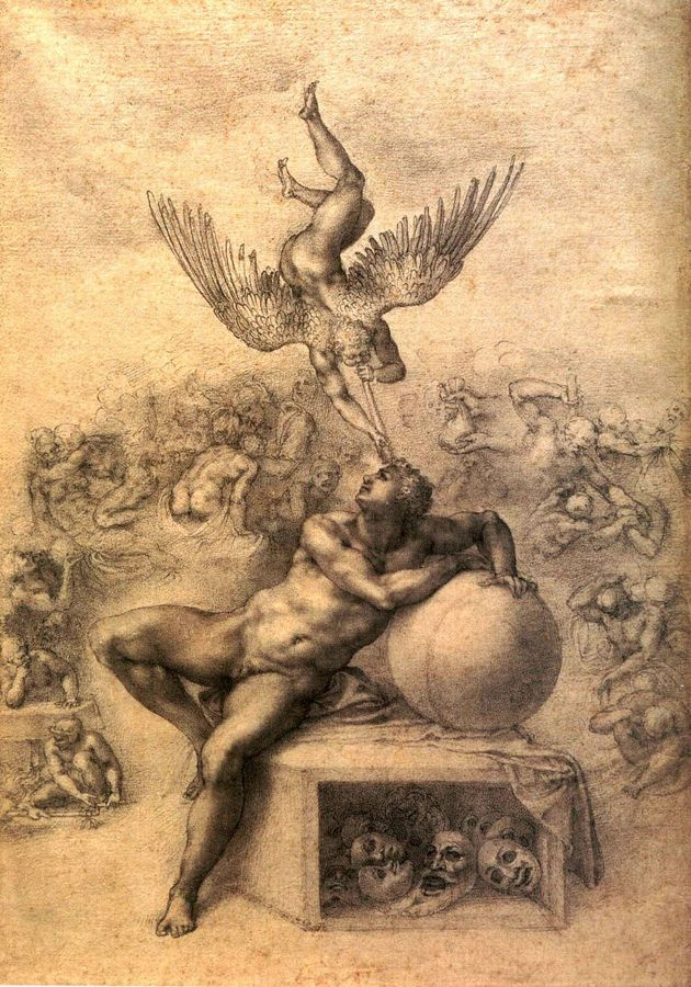 VR5-7 Michelangelo Buonarroti - Sen o lidském životě