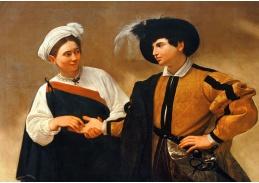 VCAR 17 Caravaggio - Věštění z ruky