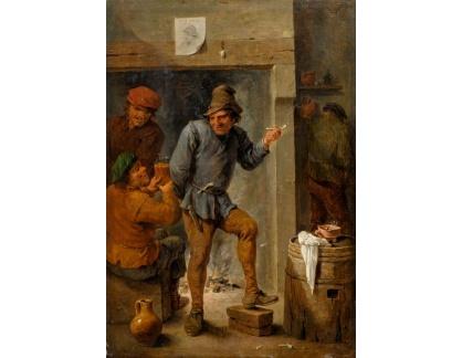 Slavné obrazy I-DDSO-75 David Teniers - V hostinci