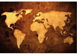 Obraz mapa 1276