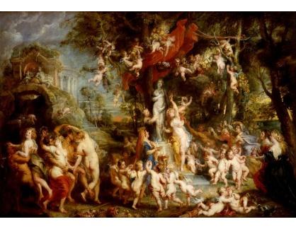 VRU143 Peter Paul Rubens - Svátek Venuše