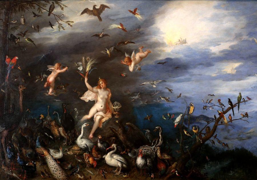 BRG-107 Jan Brueghel - Vzduch