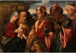 DDSO-1503 Andrea Mantegna - Klanění tří králů