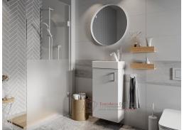 OMAGH, koupelnová sestava nábytku, bílá