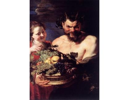 VRU74 Peter Paul Rubens - Žena a satýr