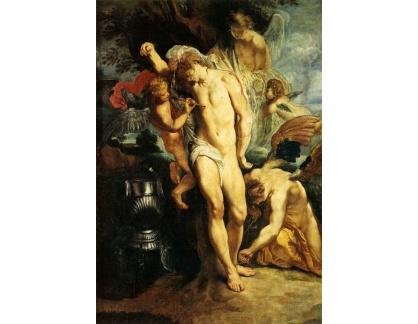 VRU89 Peter Paul Rubens - Mučednictví svatého Sebastiána