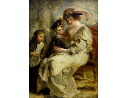 VRU103 Peter Paul Rubens - Helene Fourment a dvě z jejích dětí