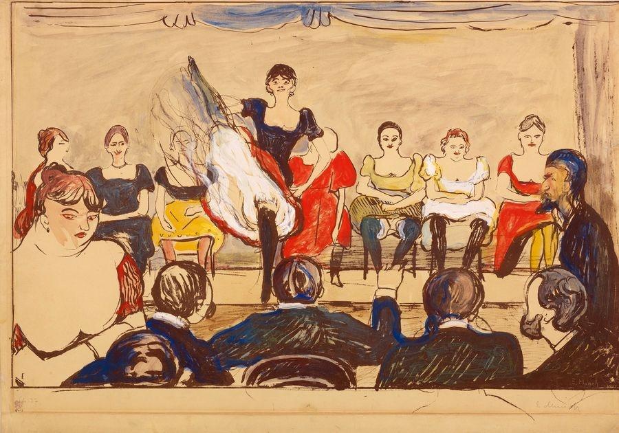 VEM13-02 Edvard Munch - Tingle Tangle