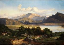VN-106 Georg Heinrich Crola  - Krajina okolí řeky Inn
