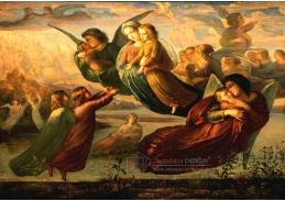 VF06 Louis Janmot - Báseň duše, vzpomínky na obloze