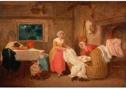 Slavné obrazy III-17 Francis Wheatley - Večer