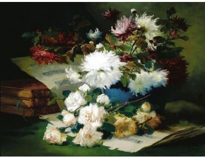 KO III-300 Neznámý autor - Zátiší s květinami