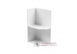 AURORA, dolní kuchyňská skříňka D25PZ - levá, bílá