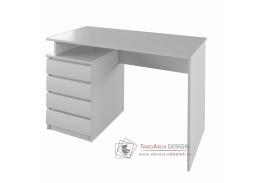 HANY NEW, počítačový stůl, bílá