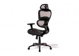 KA-A188 BK, kancelářská židle, látka mesh černá