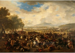 A-734 Jan van Huchtenburg - Bitva u Ramillies 23 května 1706