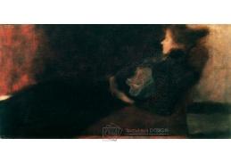 D-8347 Gustav Klimt - Dáma u krbu