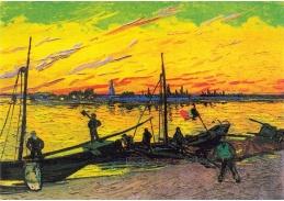 A-19 Vincent van Gogh - Uhelné čluny