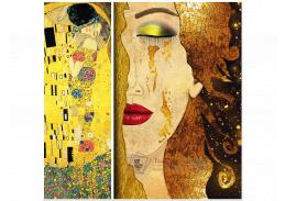 Obrazový set 2D Gustav Klimt R3-220