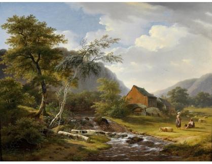 KO III-345 Pierre Jean Hellemans - Pastorační krajina