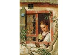 DDSO-2623 Ernst Freiesleben - Dívka u okna