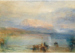 D-6237 Joseph Mallord William Turner - Červený Rigi