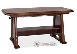 BEATA, jídelní - konferenční rozkládací stůl, olše