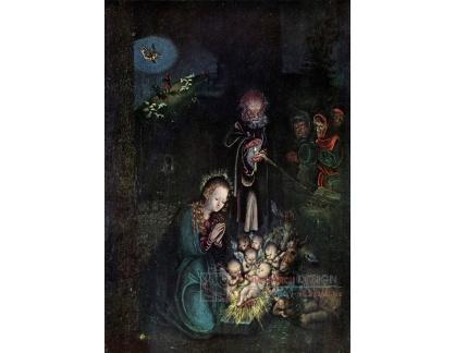 VlCR-76 Lucas Cranach - Narození Krista