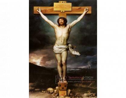 VN-328 Anton Raphael Mengs - Kristus na kříži