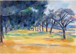 D-7498 Paul Cézanne - Alej v Marines
