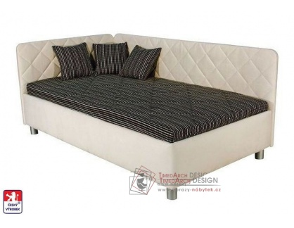 SORBONA, postel 110x200cm, volně ložená matrace