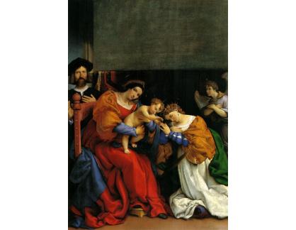VLL 25 Lorenzo Lotto - Mystické manželství