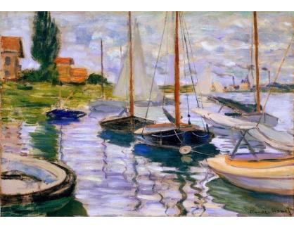 D-7083 Claude Monet - Plachetnice na Seině