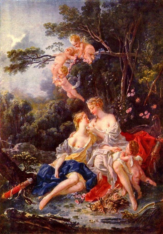 Francois Boucher - Jupiter a Kallisto