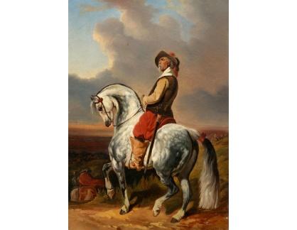 DDSO-2532 Alfred Dedreux - Mušketýr na koni