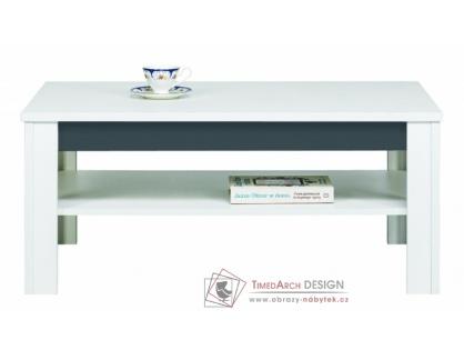 GRAY GR10, konferenční stůl, bílá / grafit